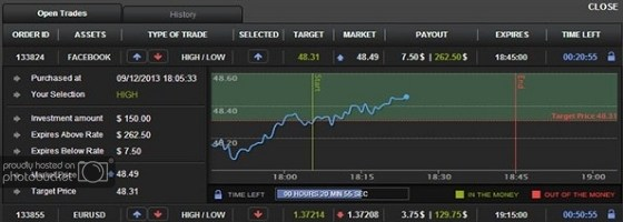99binary copy trading feature image - account summary